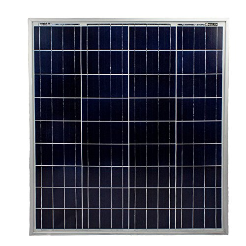 80 Watts Solar Panel 12V Poly Battery Charger for Trolling Motors - Mighty Max Battery brand product (Trolling Motor Chargers Battery)