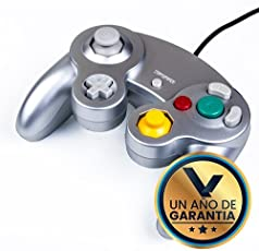 Virtual Zone Control Alámbrico para Nintendo Game Cube Plata