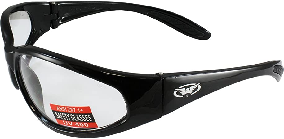 Global Vision Hercules Category 3 Tinted Bifocal 2.5 Motorcycle Sunglasses UV400 Biker Glasses Complete With Storage Pouch /& Global Eyewear Store Lens Cleaning Cloth