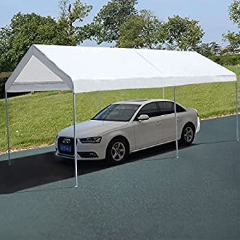 Amazon.com: 10 x 20 Steel Frame Canopy Shelter Portable ...