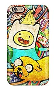 MSCtCEI1139KfGnX Tpu Case Skin Protector For Iphone 6 Finn And Jake Cartoon With Nice Appearance