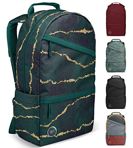 Simple Modern Legacy Backpack with Laptop Compartment, Torn Blues, 25 Liter