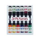 dr martins dyes - Dr. Ph. Martin's 400262-XXX Hydrus Fine Art Watercolor Bottles, 0.5 oz, Set of 12 (Set 2)