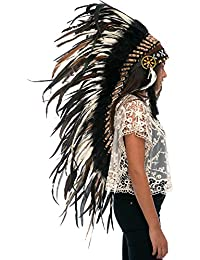 Feather Headdress | Native American Indian Style | Many Colors