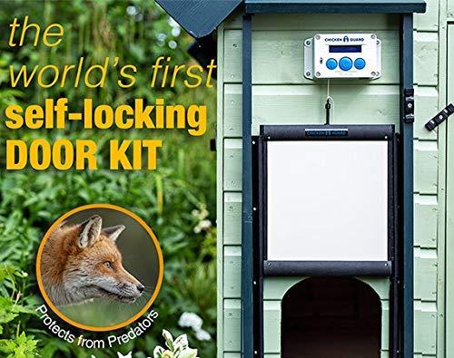 Self Locking Chicken Coop Door Predator Resistant Chicken Coop Accessories