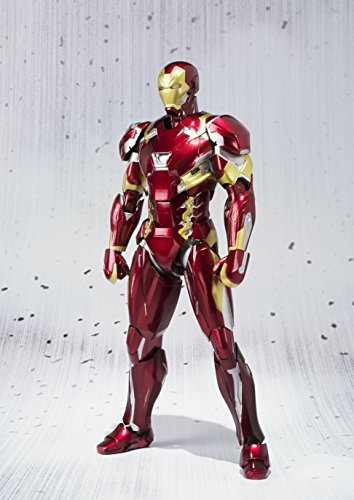51jty6SgeRL - S.H. Figuarts - Civil War - Iron Man Mark 46