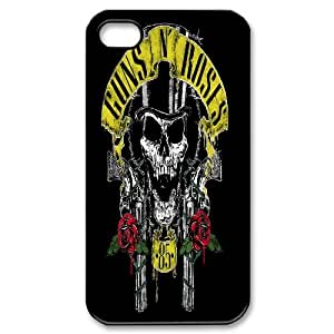 USA Rock band Guns N'Roses poster Hard Plastic phone Case Cover+Free key bracket For Iphone 4 4S case cover XFZ429537