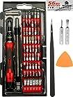 PREMIUM 62 in 1 Repair Tool Kit With 56 Magnetic Bit Set