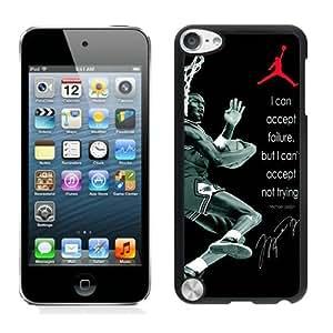 Michael Jordan(1) Black iPod Touch 5 Cellphone Case Personalized and Unique Design