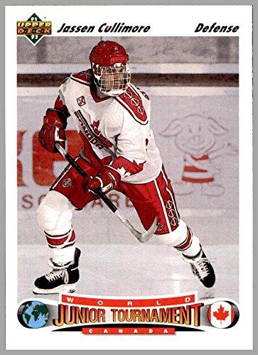 1991-92 Upper Deck #690 Jassen Cullimore RC Rookie TEAM CANADA