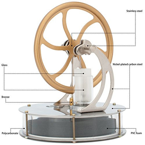 DjuiinoStar Low Temperature Stirling Engine by DjuiinoStar (Image #1)