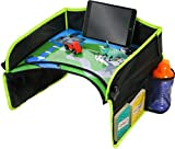EasyXplorer Kids Activity Travel Tray with Erasable Drawing Surface and EXCLUSIVE play scene