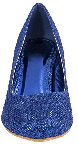 Elara - Plataforma Mujer Azul - azul