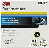 3M 00917 Hookit 3'' P180C Grit Gold Disc