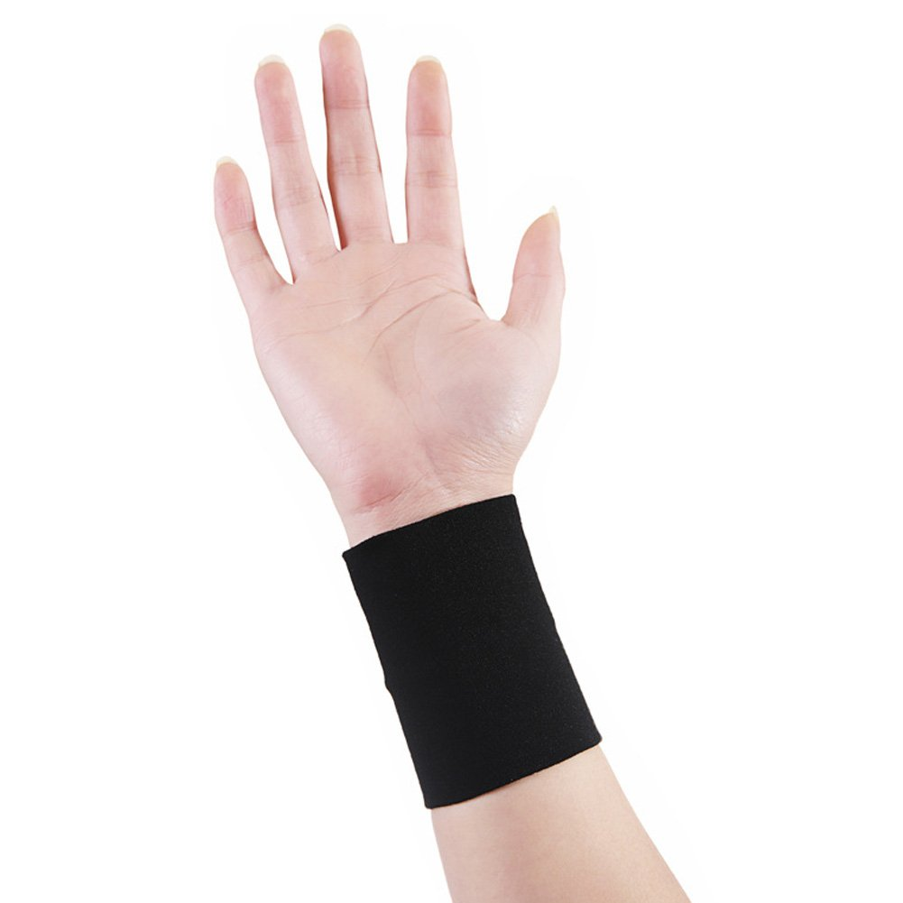BUYITNOW Compression Wrist Sleeves / Supports / Braces Infused With Copper | Arthritis | Carpal Tunnel | Sports | Muscle & Joint Pain for Men and Women