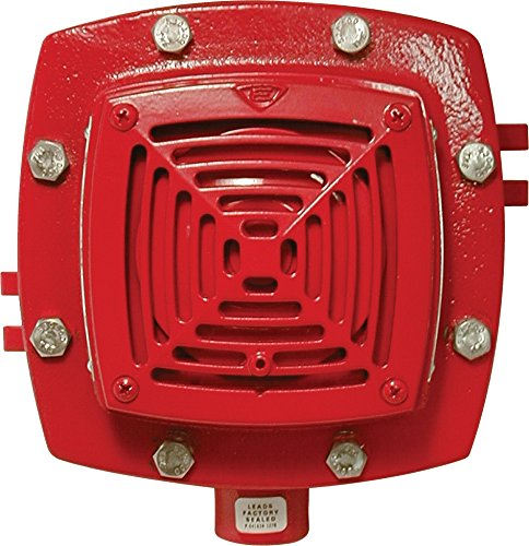 Edwards Signaling 889D-AW Diode Polarized Vibrating Horn, 94/84 db, 20-24V DC, Red