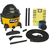 Shop-Vac 9625210 6.25-Peak Horsepower Right Stuff Wet/Dry Vacuum, 16-Gallon