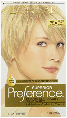 Price comparison product image L'Oreal Preference #9.5A Extra-Light Ash Blonde, 1 ct