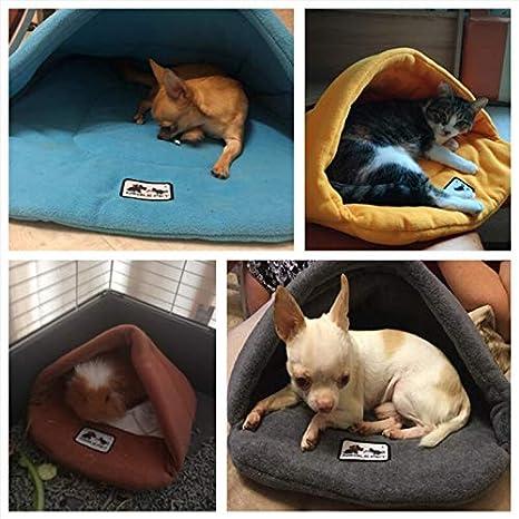 Amazon.com: Cama para perro, 6 colores, suave, forro polar ...