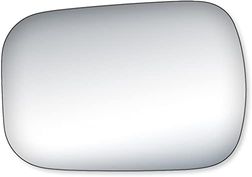 Driver//Left Side Door Rear View Mirror Glass Lens Replacement for 1988-2000 Chevy Blazer//Tahoe GMC Yukon C//K
