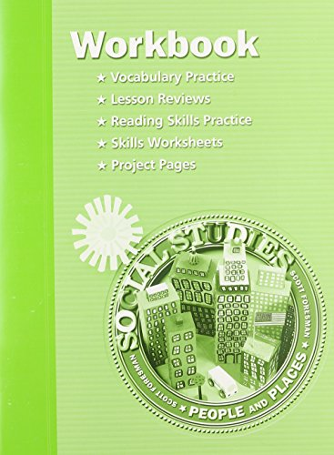Social Studies Level 2 Workbook: Vocabulary Practice, Lesson Reviews, Reading Skills Practice, Skills Worksheets, Project Pages