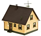 ho scale house - Faller 130223 Family house with deco parts HO Scale Building Kit