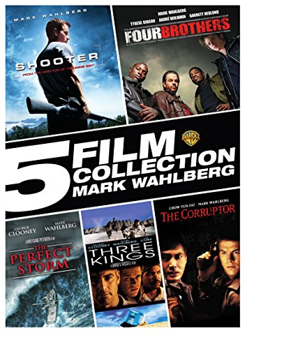 5 Film Collection: Mark Wahlberg (Shooter, Four Brothers, the Perfect Storm, Three Kings, the Corruptor)