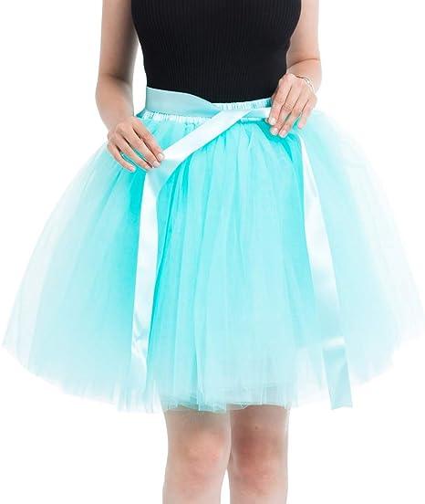 Falda de tul para mujer Writtian Crinoline Petticoat 50 Rockabilly ...