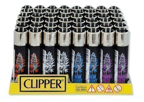 Clipper Lighter - Edition Plants - Purple Haze