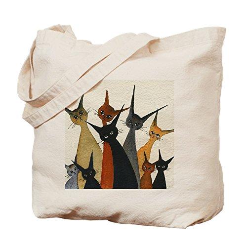 CafePress–Irvine gatos callejeros–Gamuza de bolsa de lona bolsa, bolsa de la compra