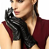 2015 New Fashion Women Genuine Kid Leather Gloves Best Match for Your Hand Bags