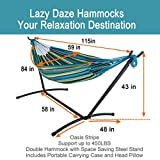 Lazy Daze Hammocks Portable 10 Feet Hammock Steel