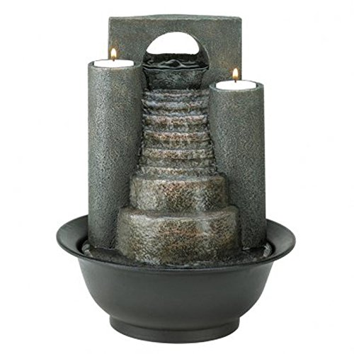 Gifts & Decor Eternal Steps Decorative Water Fountain by Furniture Creations