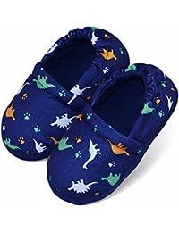 Boys/Little Kid Winter Warm Indoor Slip-on Slippers Hard Anti-Slipping Sole