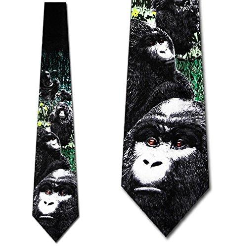 Marlin Vintage Tie (Gorillas Tie Mens Necktie)