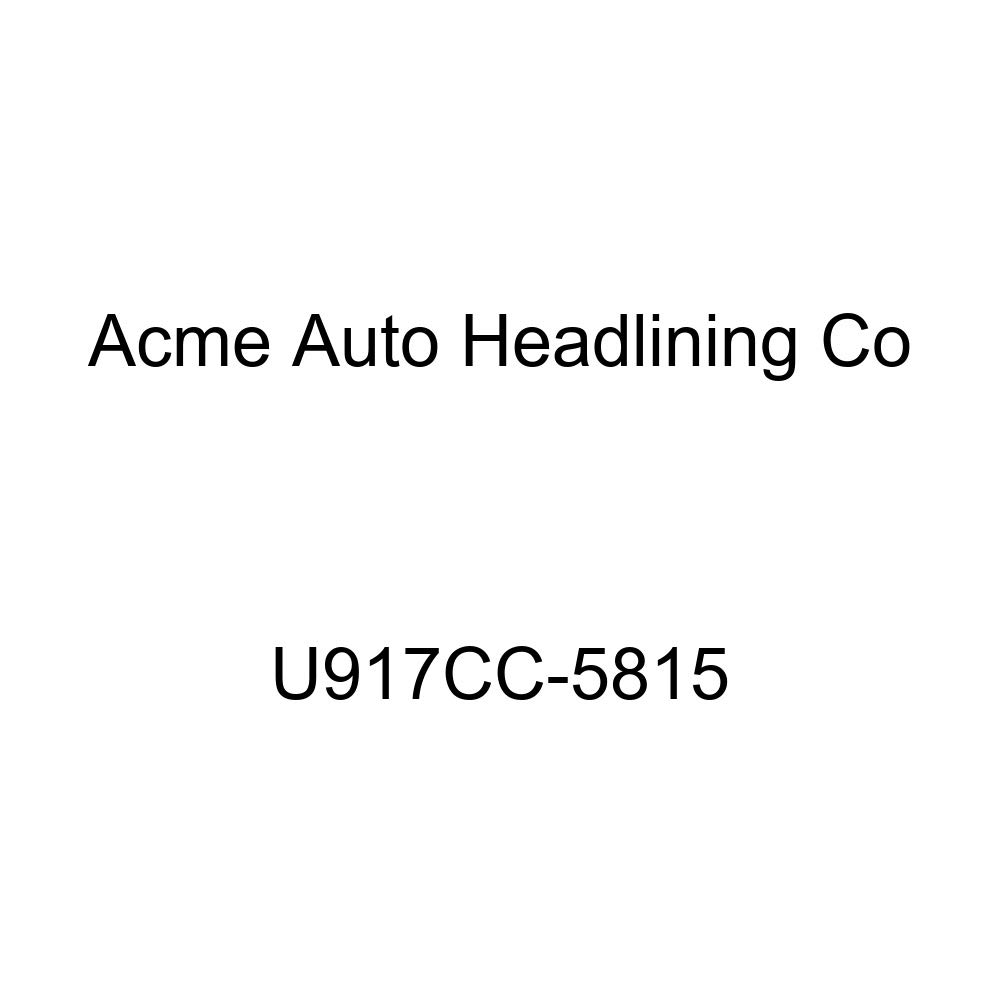 Acme U917CC-5815 Front and Rear Dark Charcoal Vinyl Bench Seat Upholstery