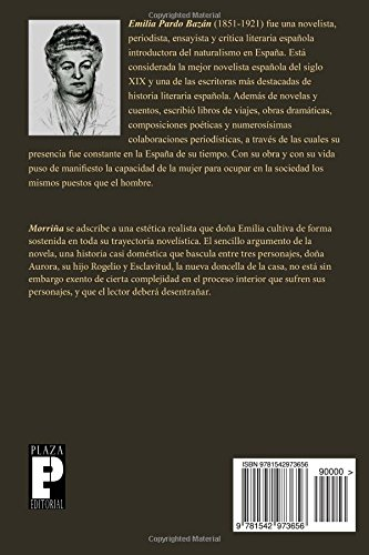 Morriña (Spanish Edition): Emilia Pardo Bazán: 9781542973656: Amazon.com: Books