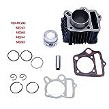 FLYPIG Cylinder Piston Assembly Kit for Honda CRF70 ATC70 XR70 CT70 S65 TRX70