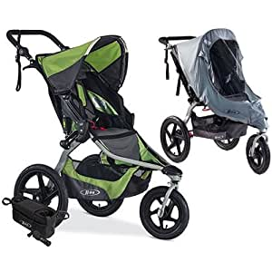 Amazon.com : BOB Revolution Flex Jogging Stroller, Meadow ...