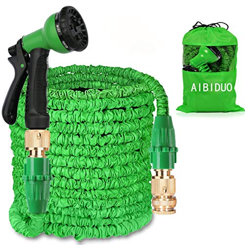AIBIDUO Hose Pipe Expandable Garden Hose 100Ft {IMPROVED}Magic Water Hose...