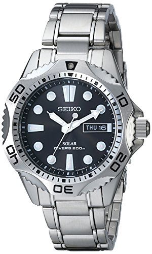- Seiko Men's SNE107 Stainless Steel Watch with Link Bracelet