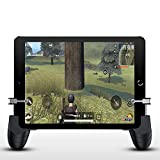 Newseego Tablet Controller Gamepad - Mobile Phone Gaming Controller Joysticks Tablet Game Trigger for iPad & Smartphone, Sensitive Shoot Aim Trigger Button for PUBG/Knives Out
