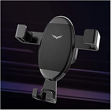 KrusdanS Porta Cellulare da Auto Supporto Smartphone per Telefono gravit/à in Alluminio Ventilazione bocchette Macchina Universale