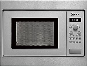 Neff HW 5350 N - Microondas sencillos, 800 W, 17 l, color ...