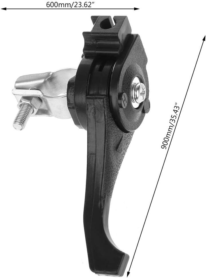 SUCHUANGUANG Palanca Universal del Acelerador del cortac/ésped Ajuste de Tornillo para Montaje de recortador de Manillar de 23-27mm Rompecabezas Negro y Plateado