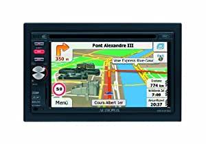 "Audiovox VME 9520NAV - Radio para coche (AM, FM, 87.5 - 108 MHz, 24-bit/192 kHz, 15,75 cm (6.2""), LCD, Negro)"