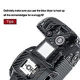 Carbon Fiber Film Camera Body Skin Sticker Cover