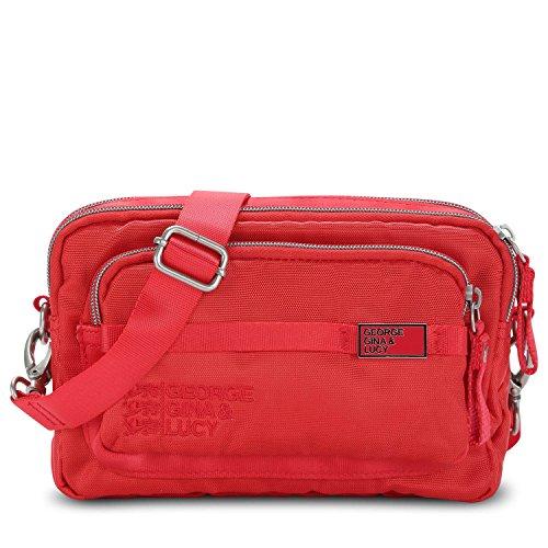 George Gina & Lucy Love Letters Mini Bag Sac bandoulière Sac banane 20 cm Rouge