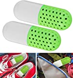 Shoe Deodorizer Multi-Use Deodorizer Capsules, Freshens shoes, clothes, bags, drawers, closets, and more, Easy to use, twist to activate
