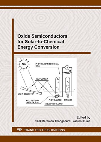 Oxide Semiconductors for Solar-to-Chemical Energy Conversion (The Conversion Of Solar Energy To Chemical Energy)
